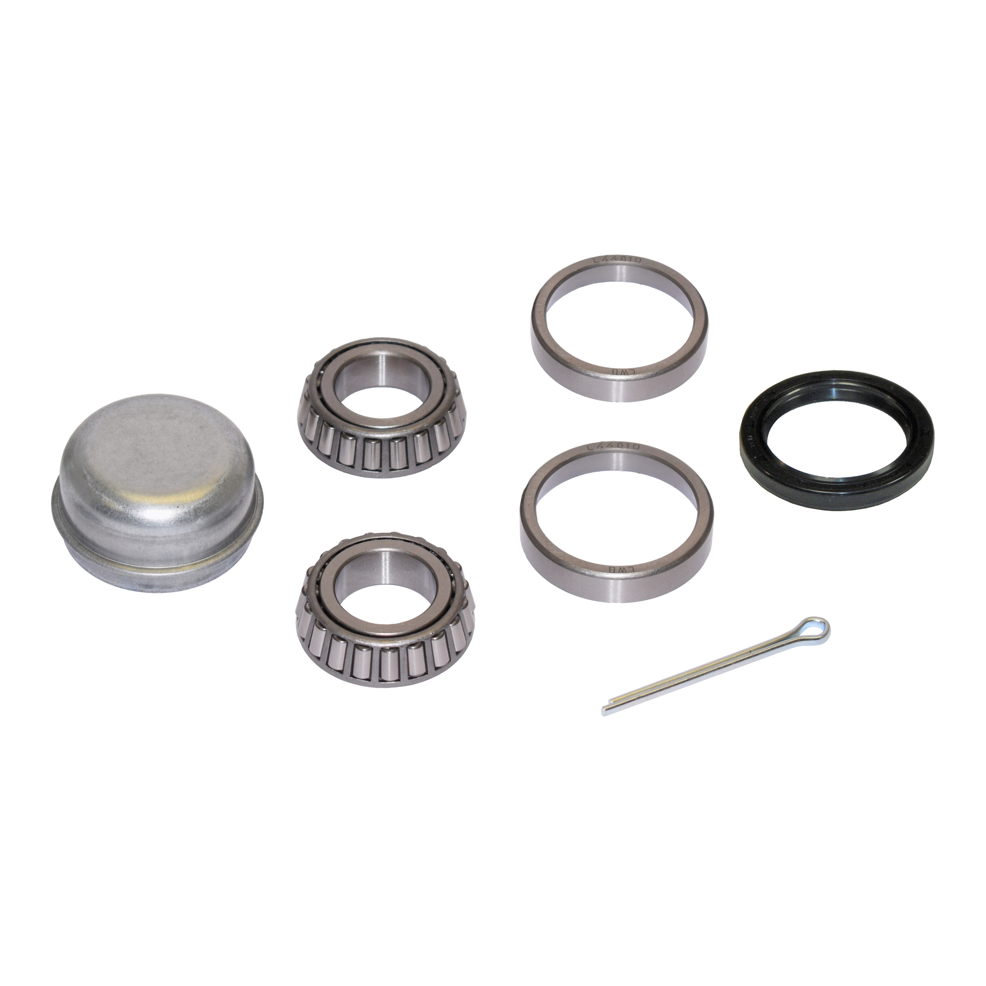 Trailer Bearing Repair Kit For 1-1/16 Inch Straight Spindle