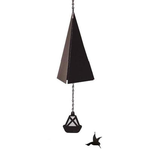 North Country Wind Bells  Inc.  112. 5016 San Francisco Bay Bell with hummingbird wind catcher