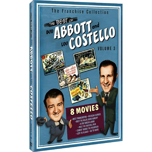 The Best Of Abbott And Costello, Vol. 3 (Full Frame)