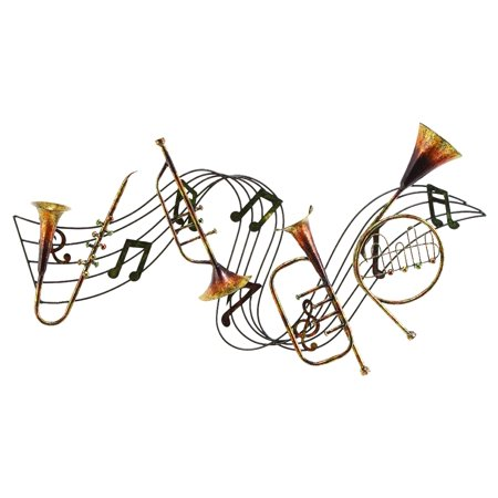 Metal Musical InstDecor A Musical Wall Decor](Musical Decor)