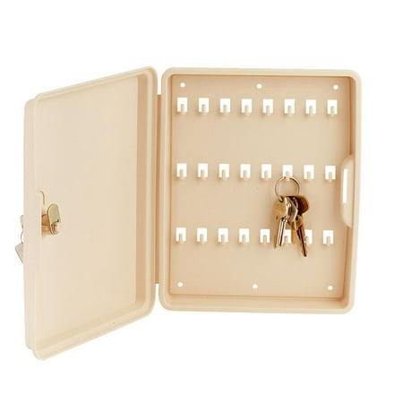 100 Key Cabinet - LUCKY LINE PRODUCTS 61200 24 unit capacity polypropylene Key Cabinet