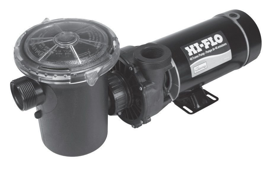 1.5 hp 2-Speed 3450 1725 RPM, 115V Above Ground Pool Pump Waterway # PH2150-6 by