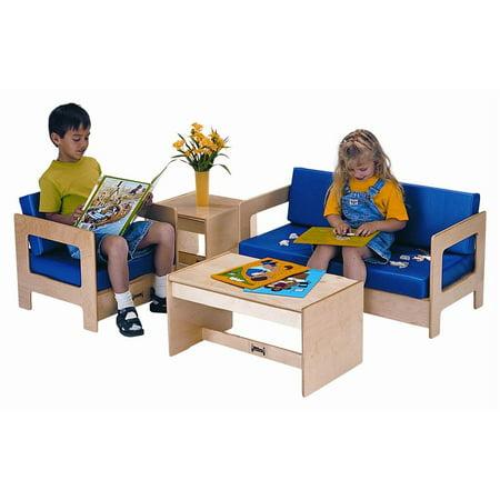 Jonti Craft 4 Pc Living Room Play Set in Blue