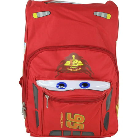 Backpack - - Cars - Lightning Mcqueen Red Large Bag New 616571 (Lightning Mcqueen Sleeping Bag)