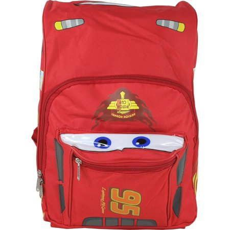 Backpack - - Cars - Lightning Mcqueen Red Large Bag New 616571