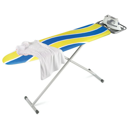 Honey Can Do Ironing Board with 2-Leg Stand and Iron Rest, - Full Size Ironing Board