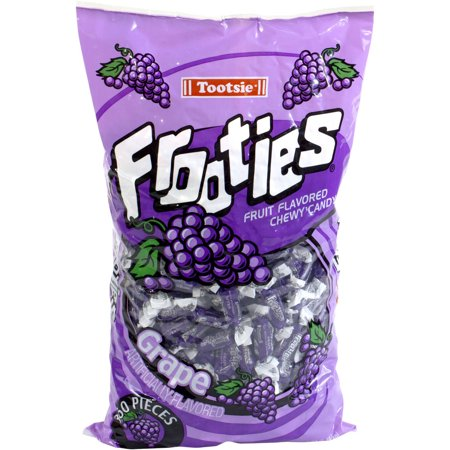 Tootsie Frooties Grape Fruit Flavored Chewy Candy  360 Count