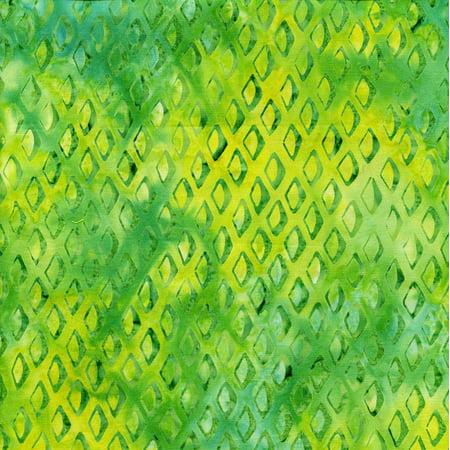 Island Batik Ocean Odyssey Fish Scales Lemon Lime