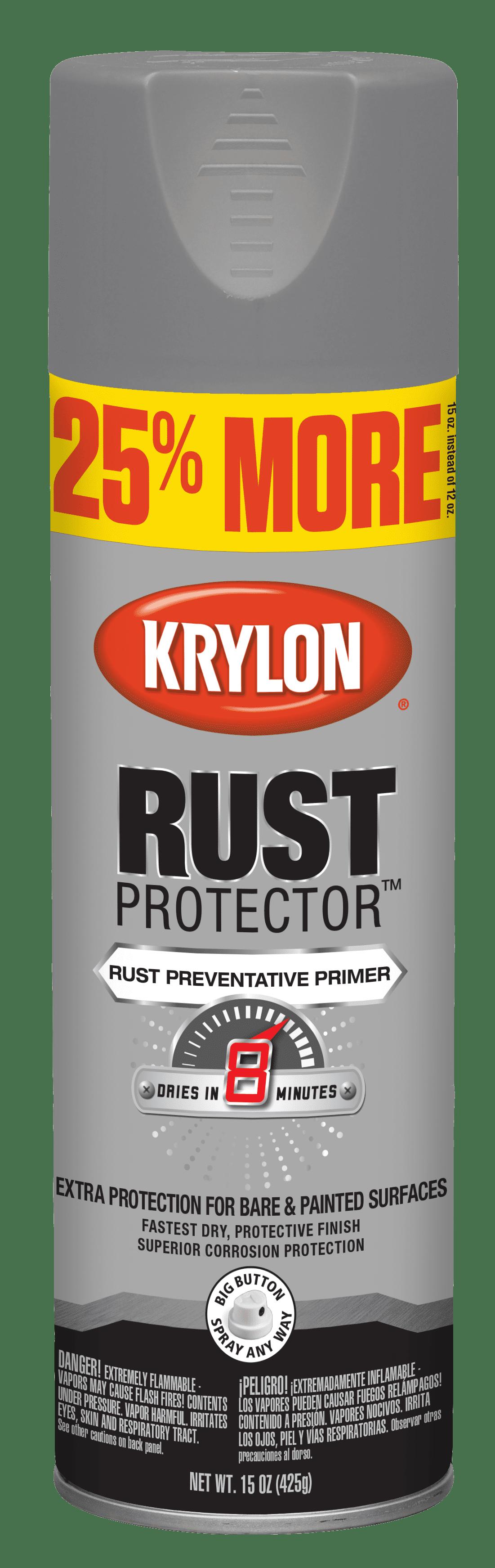 krylon rust protector gray primer 15 oz walmart Krylon Spray-Paint krylon rust protector gray primer 15 oz