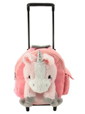 fd9c38f4808 Product Image Animal Adventure Jolly Trolley Kids Luggage Unicorn Plush  Interactive Toys