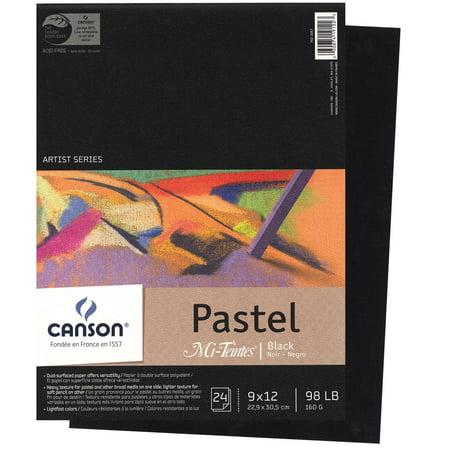 - Canson Mi-Teintes Pastel Black Paper Pad