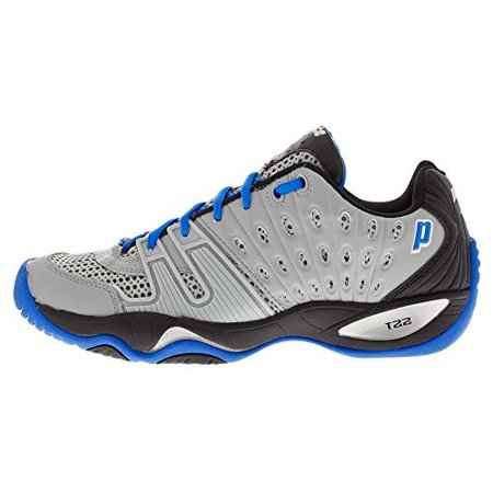 d5690581105f Prince - Prince T22 Men s Tennis Shoe- Grey Black Royal-7.5 ...