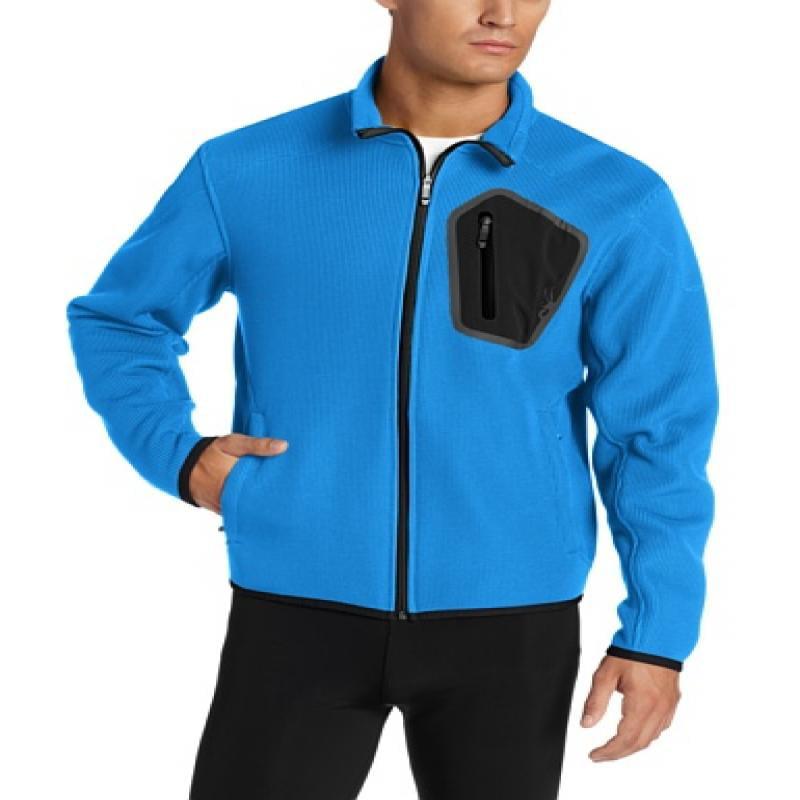 Spyder Men's Paramount Soft Shell Jacket, Collegiate/Blac...