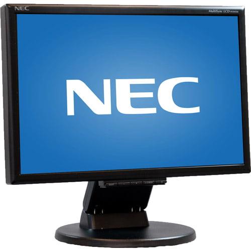 "NEC Pre-Owned,  Refurbished 19"" LCD Monitor (WA7-0013 Black)"