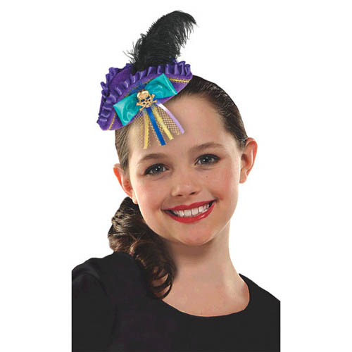 Descendants 2 Deluxe Mini Tricorn Hat Clip (1ct)