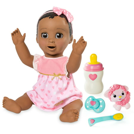 14 Baby Doll Clothes - Luvabella - Dark Brown Hair - Responsive Baby Doll with Realistic Expressions and Movement