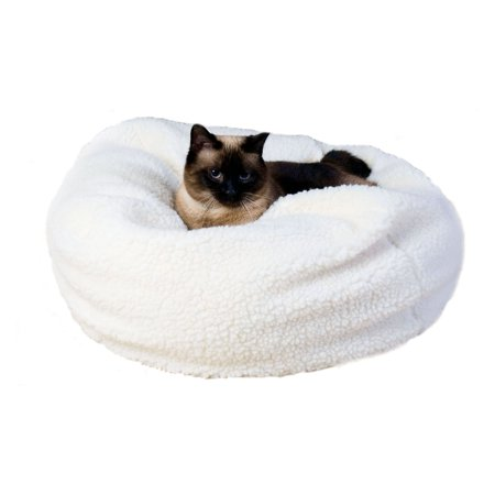 Carolina Pet Company Sherpa Puff Ball Pet Bed