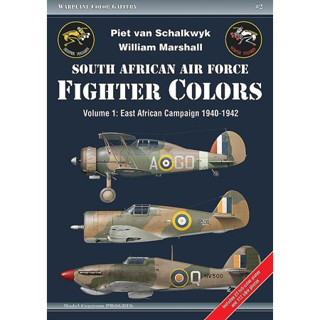Warplane Color Gallery: South African Air Force Fighter Colors. Volume 1: East African Campaign 1940-1942 (Paperback)