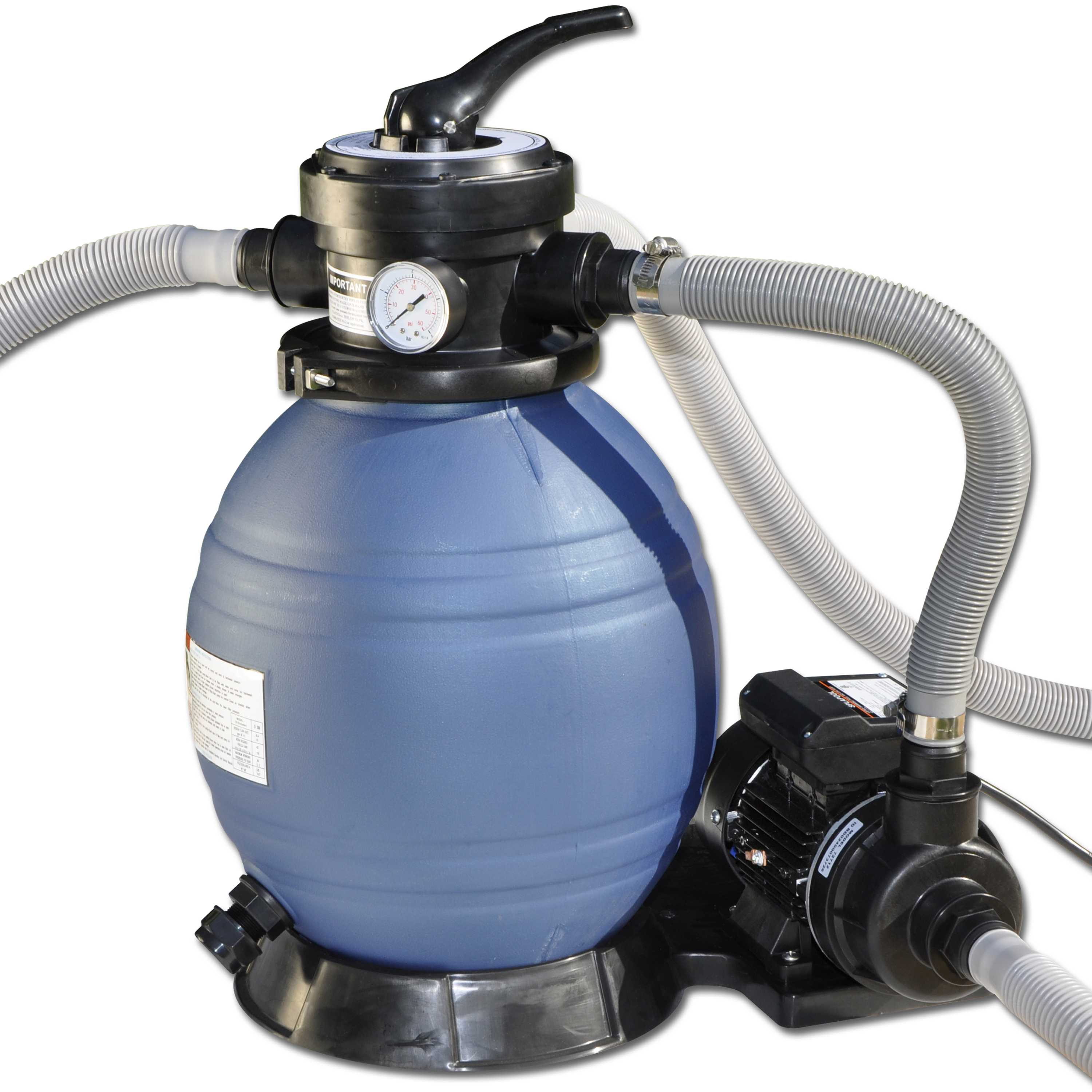 Sand Master Soft Sided Above Ground Pool Sand Filter