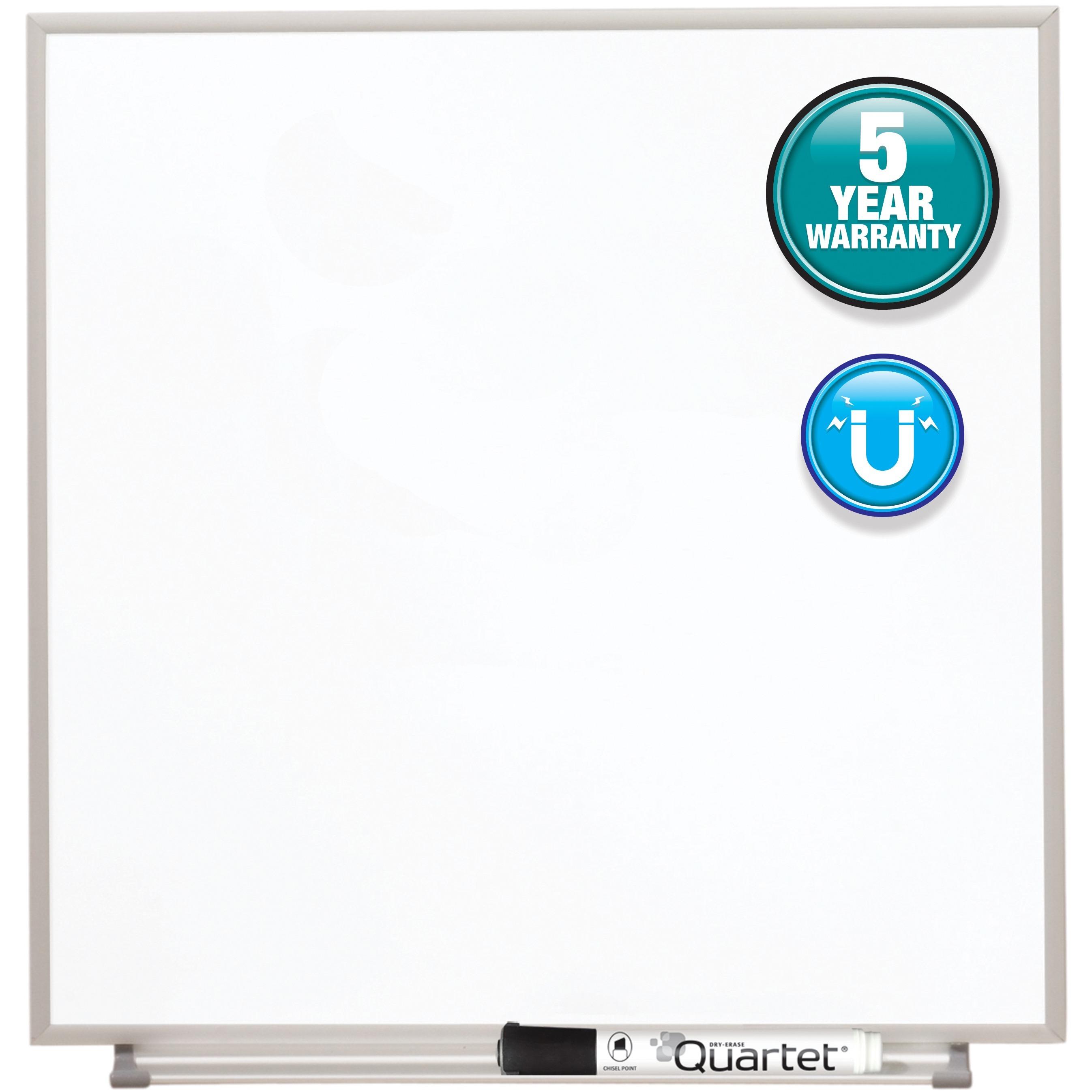 Quartet, QRTM1616, Matrix Aluminum Frame Magnetic Whiteboard, 1 Each
