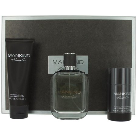 Mankind Cologne by Kenneth Cole, 3 Piece Gift Set for Men