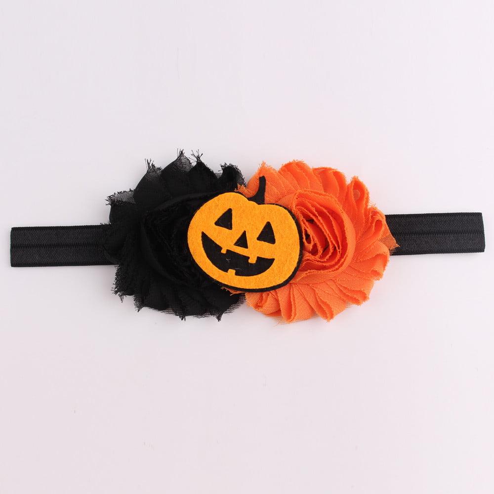 Outtop Halloween Headwear Girls Infant Hair Band Cute Headbands Flower Hair Accessories