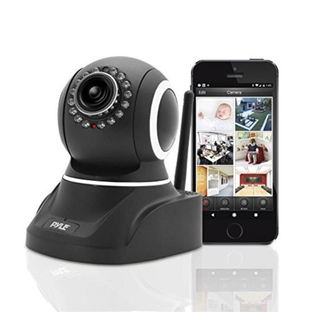HD 720p Indoor Wifi Security IP Camera for Wireless Home Surveillance Video Monitoring - Features PTZ, Motion Detection, Night Vision, 2 Way Audio - Pyle PIPCAM8 V2](bitdefender total security cheapest price)