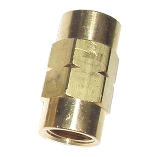 SUR&R Auto Parts M10 x 1.0 Bubble Flare Union BR450