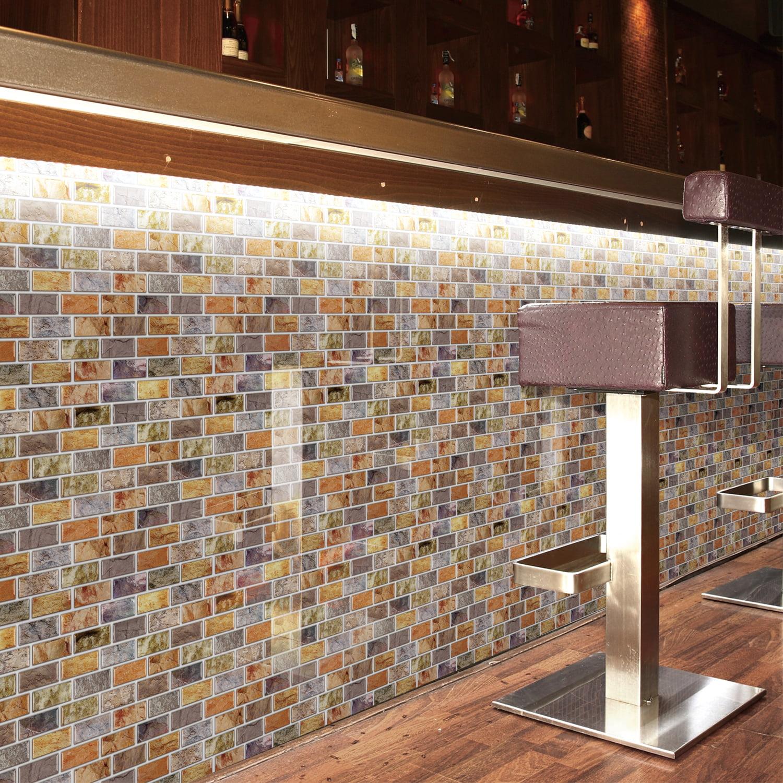 "art3d 12"" x 12"" peel and stick backsplash tiles for kitchen"