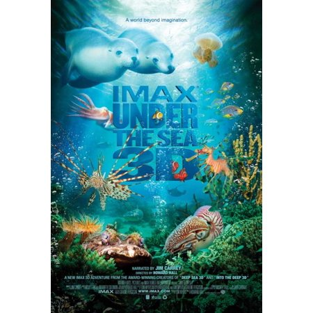 Under the Sea 3D Movie Poster (11 x - Under The Sea Topic Ideas