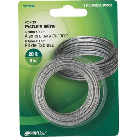 Hillman Fastener Corp 25' Picture Wire 121106 Pack of -