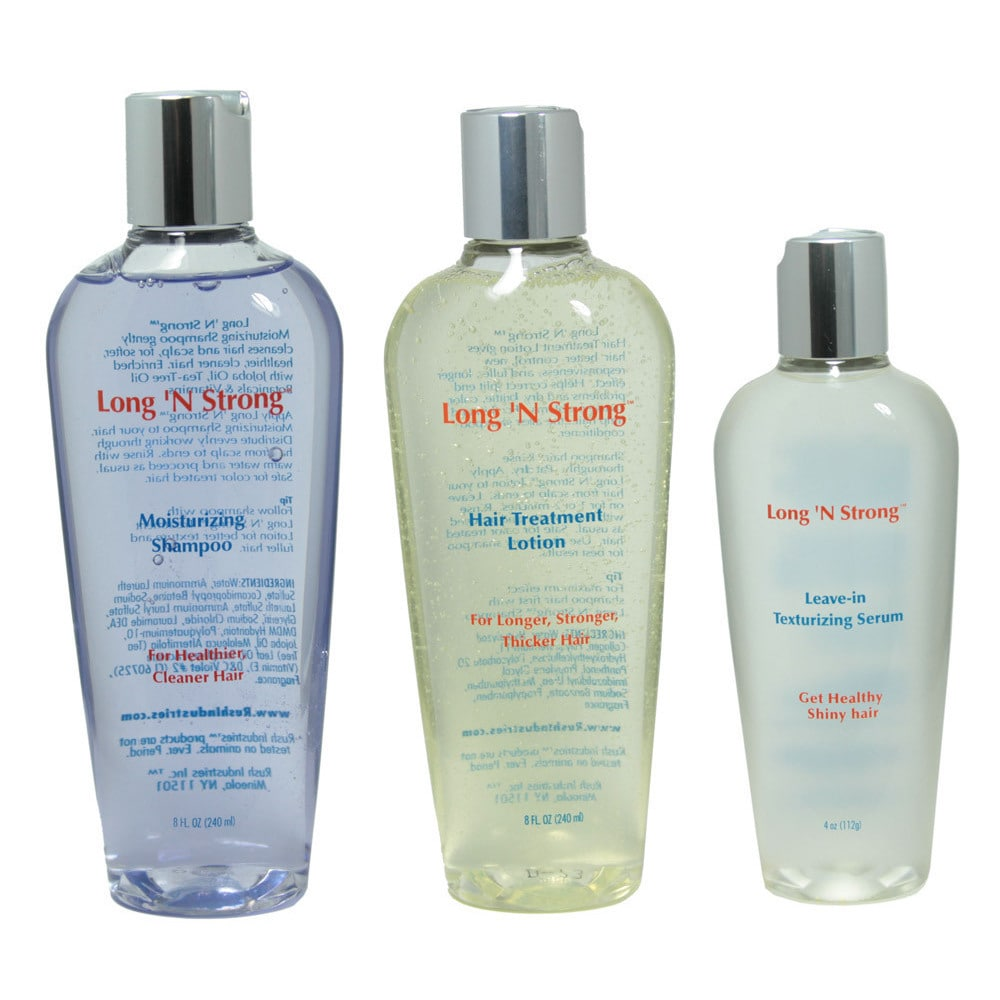 Long 'N Strong  Complete 3-piece Hair Treatment Set