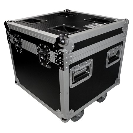 ProX XS-UTL9W Utility Pro Audio Gear Flight Case w/ Casters 20x20x20