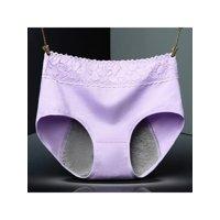 Topumt Women Menstrual Period Cotton Waterproof Thicken Leakproof Brief