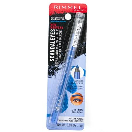 Rimmel Scandaleyes WP Brow and Liner Kajal, Cobalt Craze