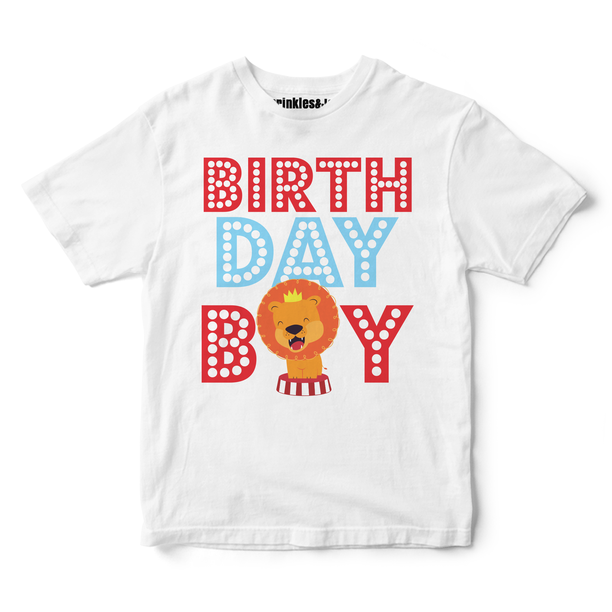 Sprinkles And Jam Circus Carnival Birthday Boy Shirt Outfit
