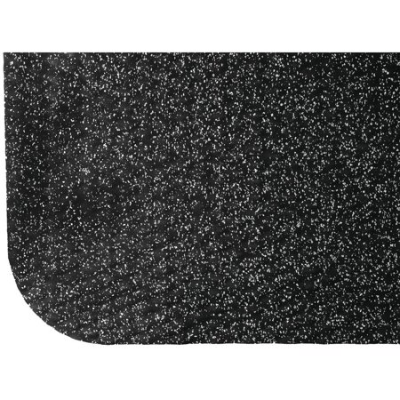 M+A Matting Grey Nitrile PVC Foam Hog Heaven Confetti Cushion Anti-Fatigue Mat - 3'L x 2'W x 5/8 H (Hog Heaven Confetti Mat)