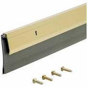 "M-D Products 05744 36"" Gold Heavy-Duty Aluminum and Vinyl Door Sweep"