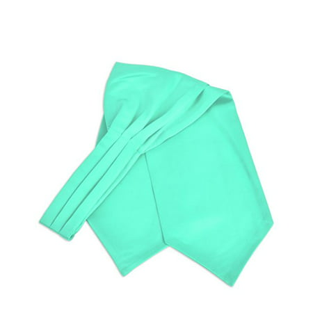 Ascot Tie - Men's Solid Color Satin Ascot Tie