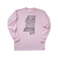 Mississippi State word salad Long Sleeve T-Shirt