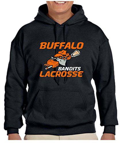 Buffalo Bandits NLL Lacrosse Men's Hooded Sweatshirt L by Tee Shirt University
