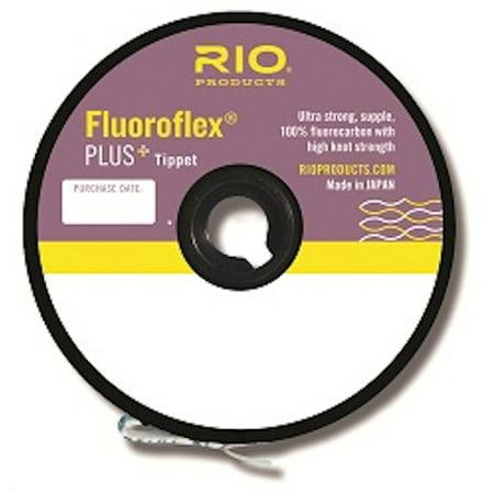 Rio Fluoroflex Fluorocarbon Plus Tippet Guide Spool - Fly Tying