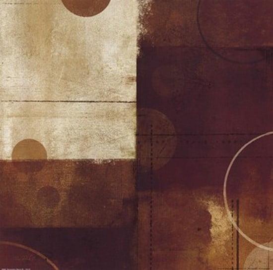 Geometric Spice III Poster Print by Mo Mullan (12 x 12)