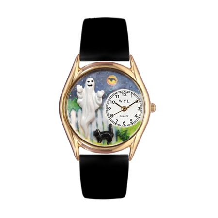 Halloween Ghost Watch Small Gold Style