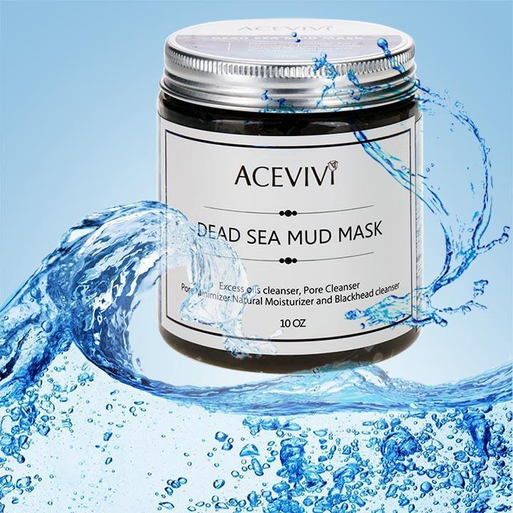 New Fashion Deep Cleaning Skin Care Blackhead Remover Canned Dead Sea Mud Facial Mask Pore Cleanser USHHE