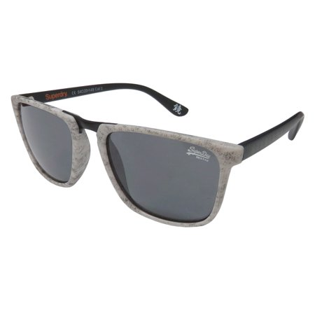 New Superdry Sds Aftershock Mens/Womens Designer Full-Rim 100% UVA & UVB Gray Pattern / Black Unique Design High Quality Sunnies Shades Frame Gray Lenses 54-20-148 Sunglasses/Sun (Cheap Superdry Sunglasses)