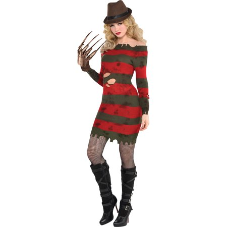 A Nightmare on Elm Street Miss Krueger Costume for Adults, Size Large, Dress - A Nightmare On Elm Street Costume