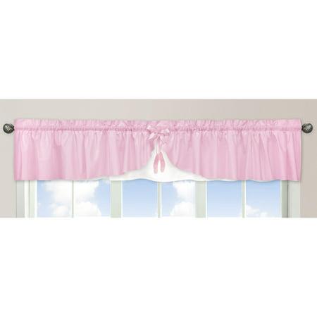Sweet Jojo Designs Ballerina Collection Window Curtain