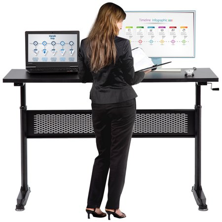 Standing Desk Adjustable Height Desk Stand Up Desk Sit Stand Desk For Laptop And