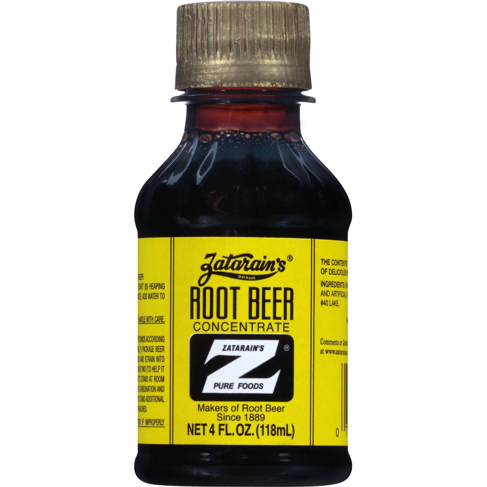 Zatarain's: Root Beer Extract, 4 Oz